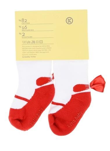 Katia & Bony Mirella Bebek Çorap - Pembe Kırmızı